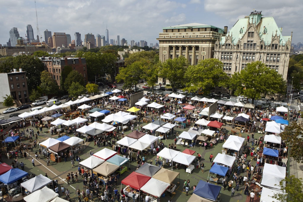 Brooklyn Flea Market, New York