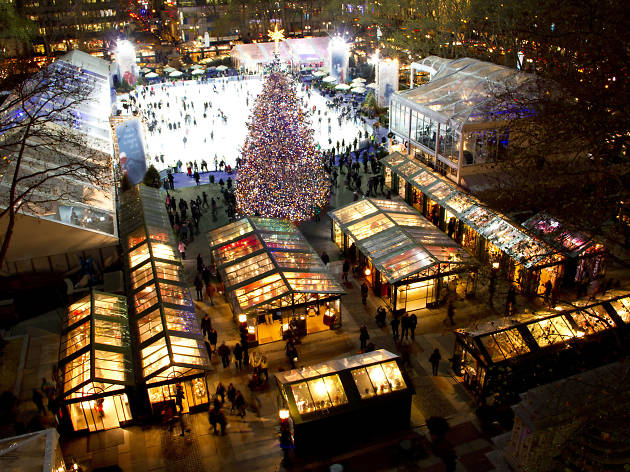 Bryant Park - Bank of America Winter Village, New York