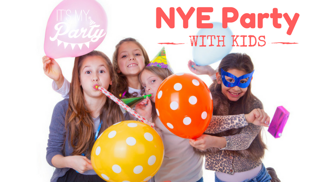 Child friendly New Year's Eve celebrations