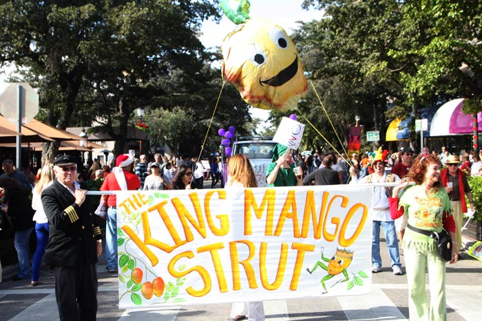 King Mango Strut Parade