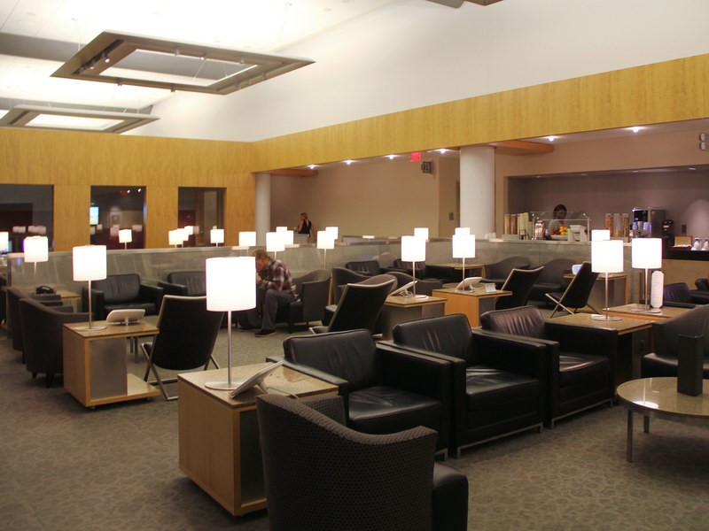 American Airlines Admirals Club, Terminal
