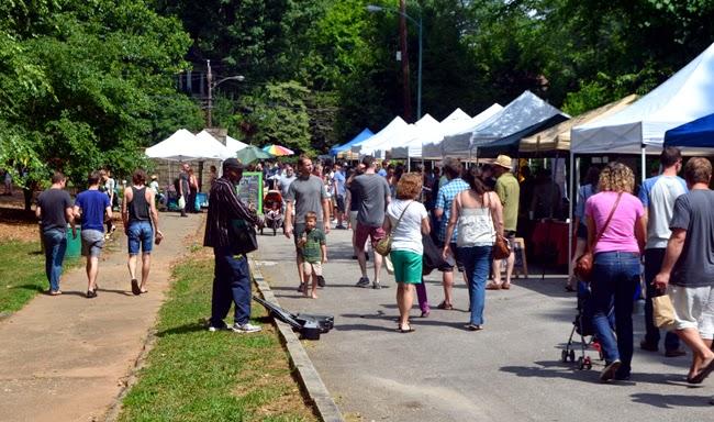 Grant Park Farmers Market, Atlanta
