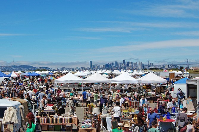 Alameda Point Antiques Faire, San Francisco