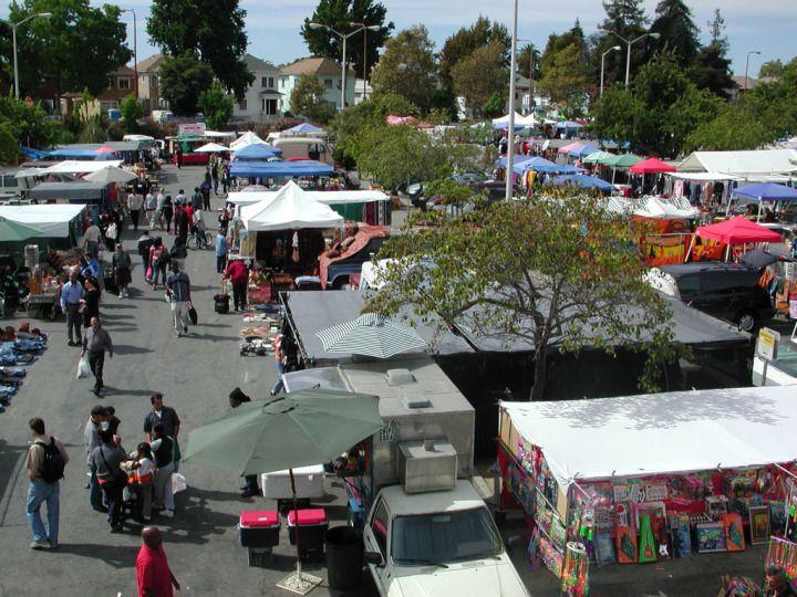 Berkeley Flea Market, San Francisco