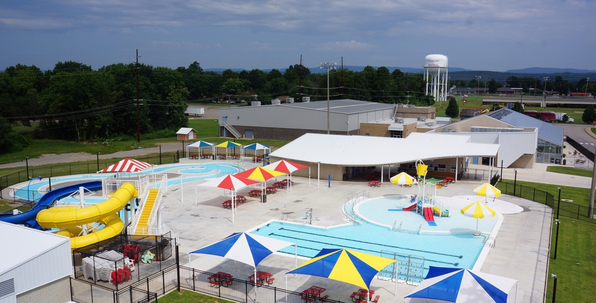 Clarksville Aquatic Center, Clarksville