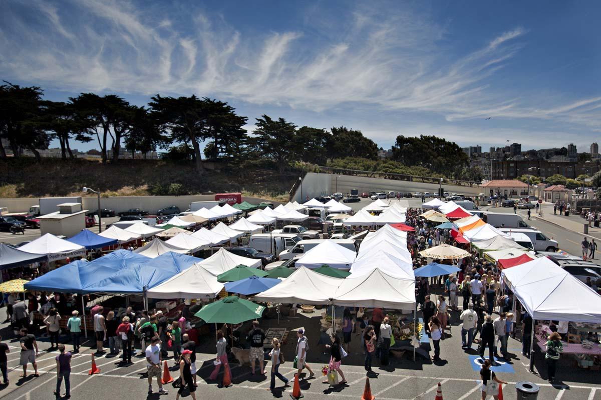 Fort Mason Center Farmers Market, San Francisco