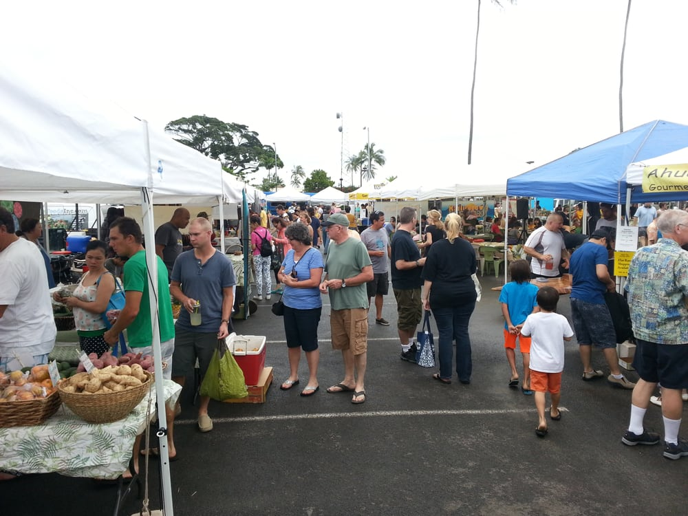 Kailua Farmers Market, Honolulu