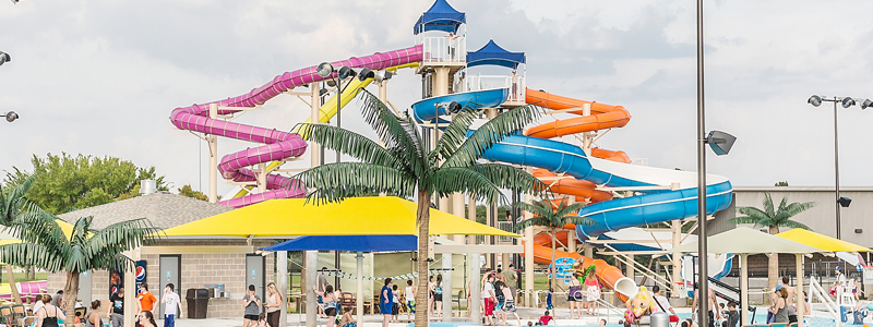 Parrot Island Waterpark, Fort Smith