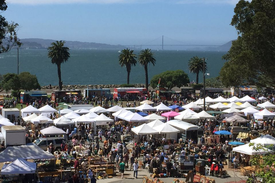 Treasure Island Flea, San Francisco