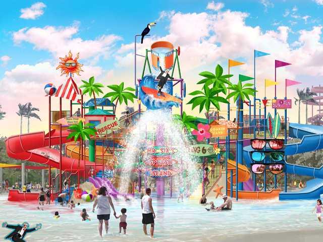 Six Flags Hurricane Harbor,Valencia