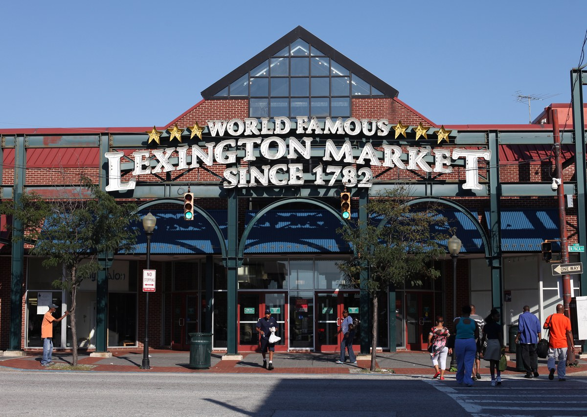 Lexington Market, Baltimore