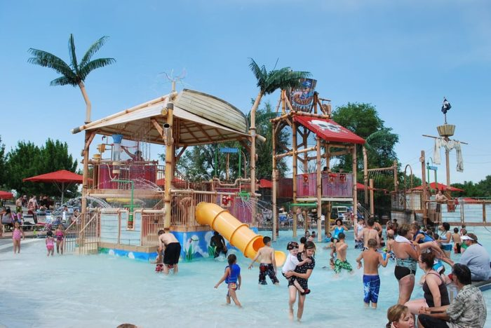 Pirate's Cove Family Aquatic Center, Littleton