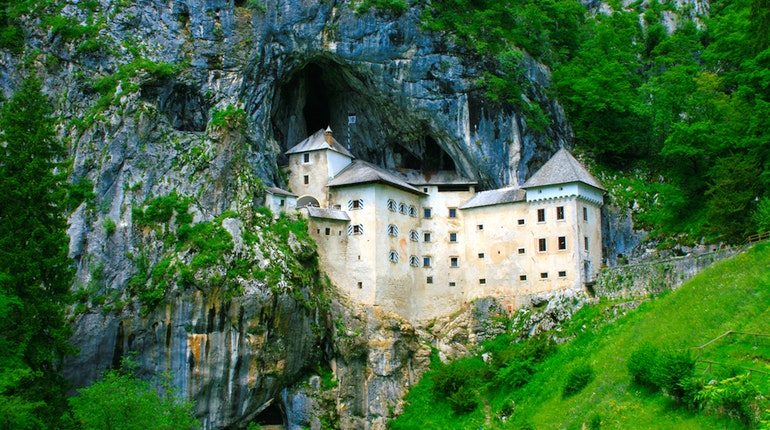 Predjama Castle - World's largest Cave Castle