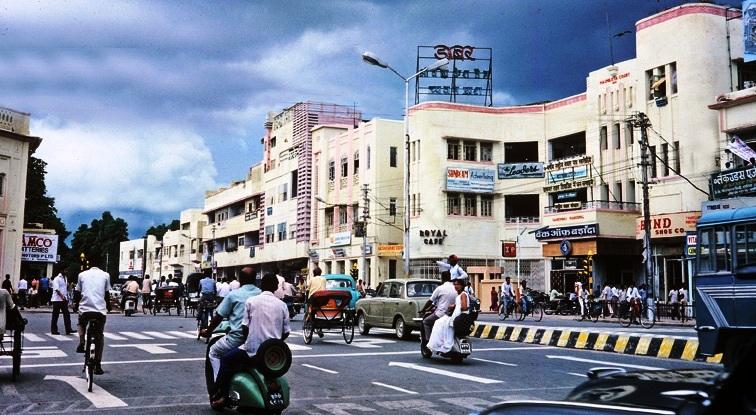 Hazratganj Market, Lucknow