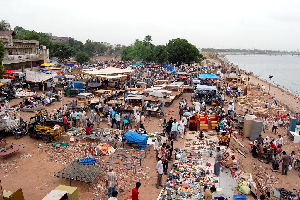 Ravivari or Gujari Bazar, Ahmedabad