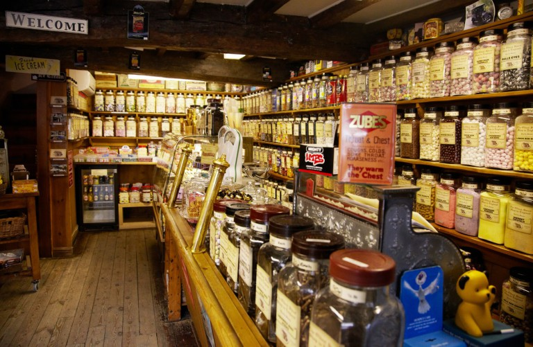 World's Oldest Sweet Shop, England