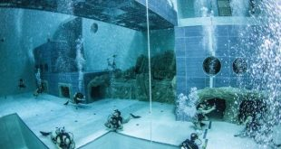 Y-40 The Deep Joy, Italy - World's Deepest Swimming Pool