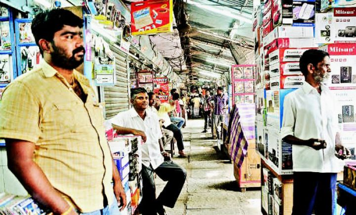 Burma Bazaar, Chennai