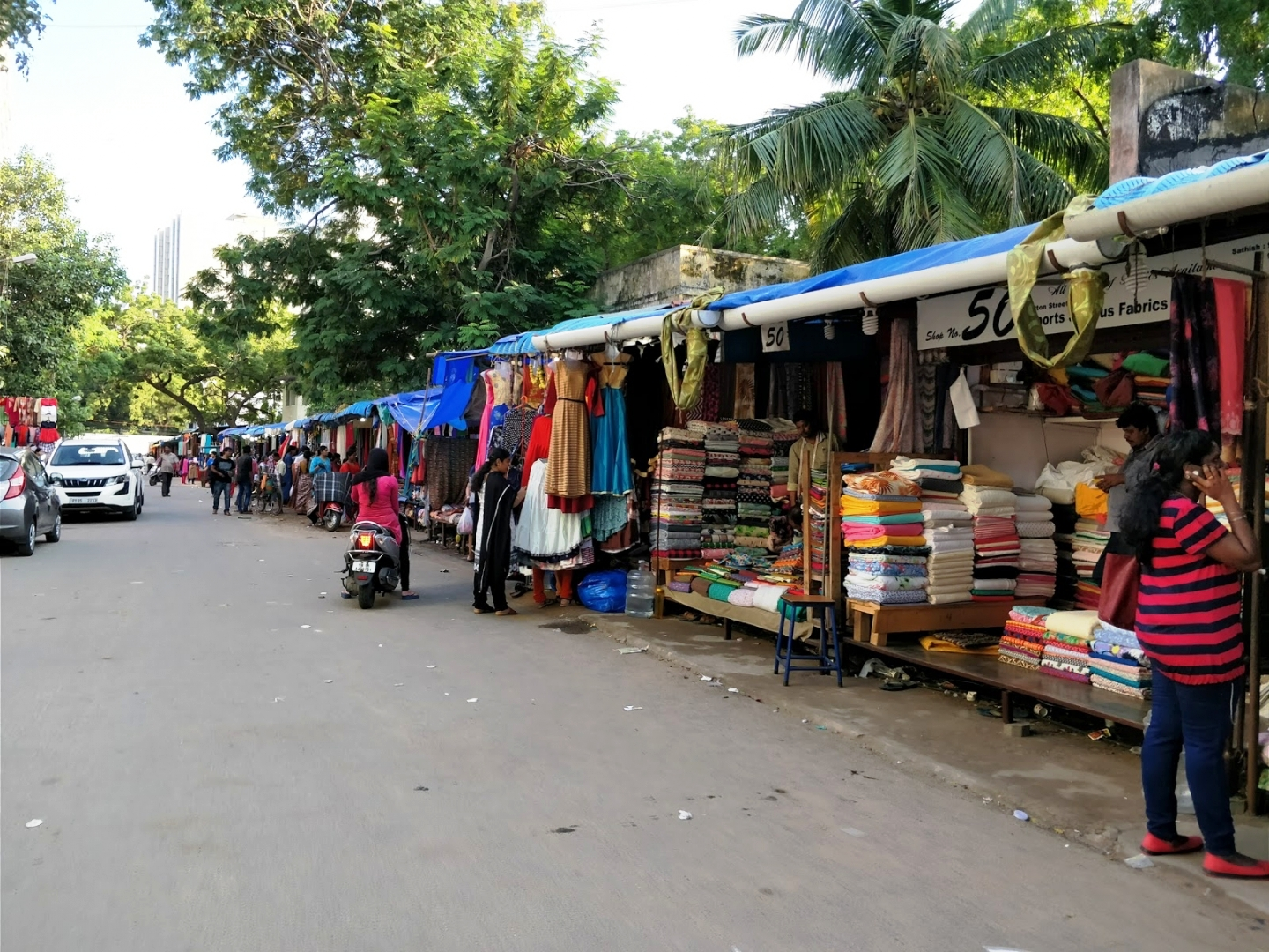 Cotton Alley, Chennai