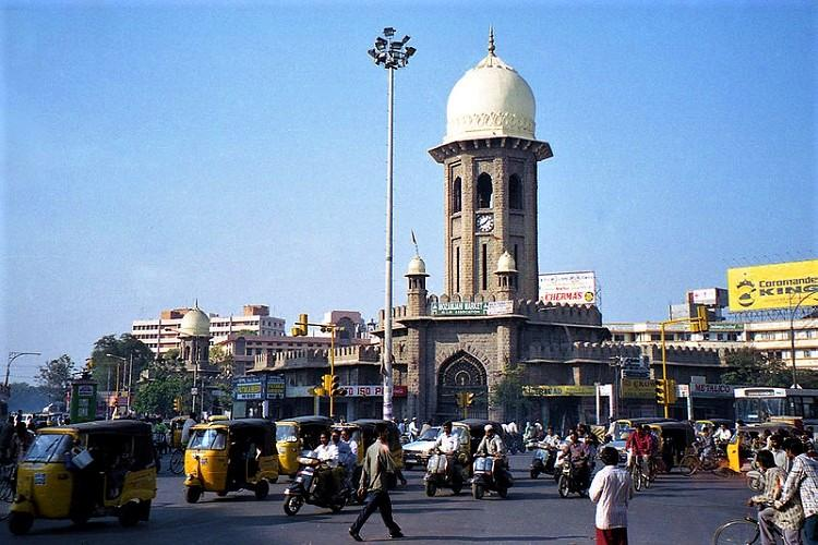 Moazzam Jahi Market, Hyderabad