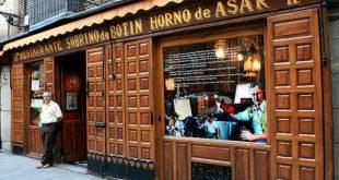 Sobrino de Botin, Madrid - World's Oldest Restaurant