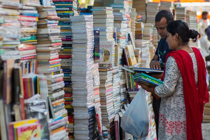 Sunday Book Bazaar, Abids, Hyderabad