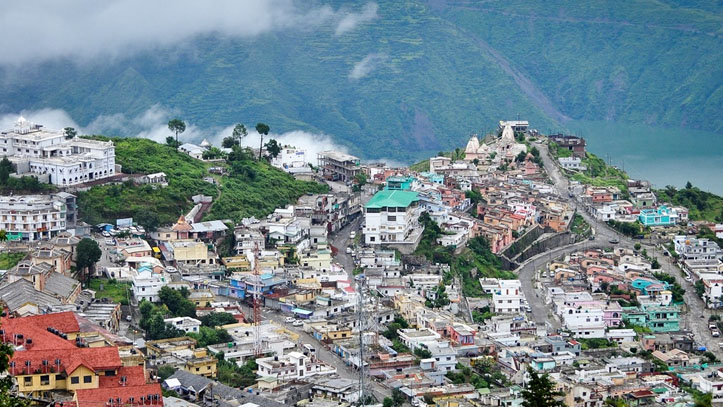 The New Tehri Town