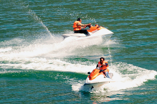 Water Sports in Tehri Dam