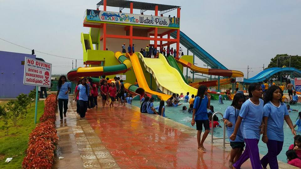 Grand World Water and Amusement Park in Tirupati