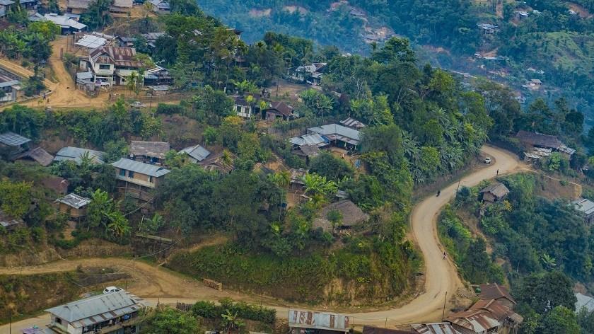 Longwa Village, Nagaland - One Village, Two Nations