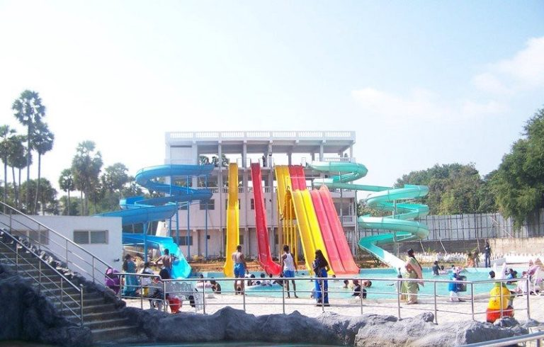 Pogo Land Water and Amusement Park in Pondicherry