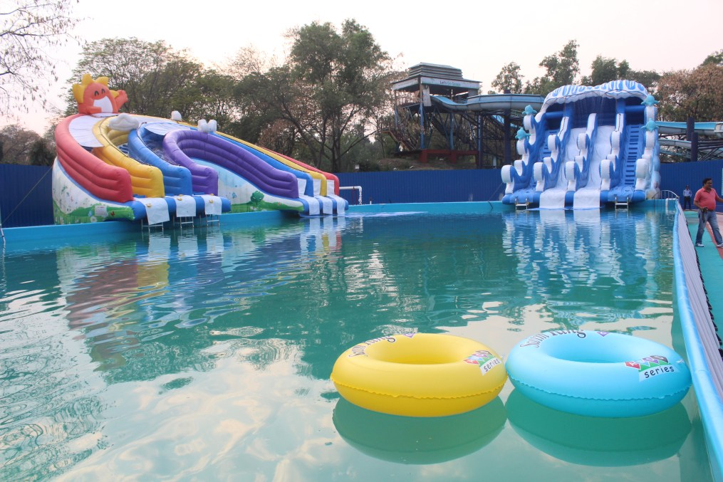Splash Zone Amusement Park in Jamshedpur