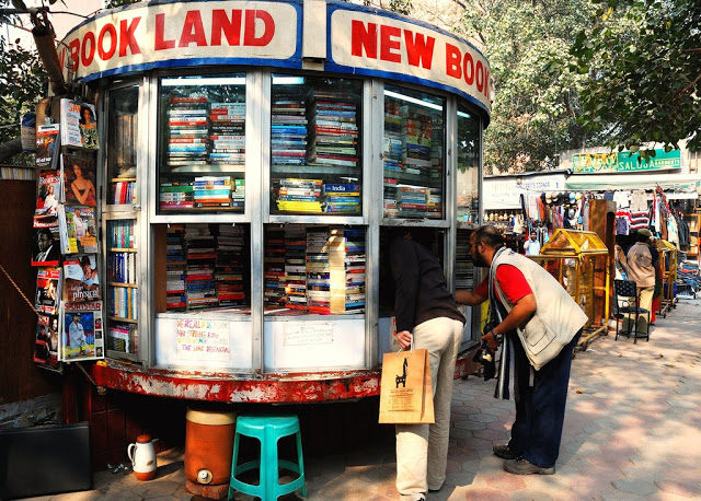 Connaught Place Book Market