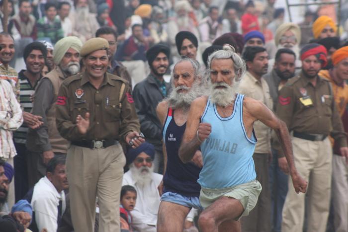Race at Kila Raipur Sports Festival