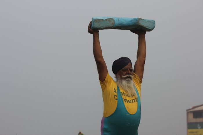 Weight Lifting at Kila Raipur Sports Festival, Punjab