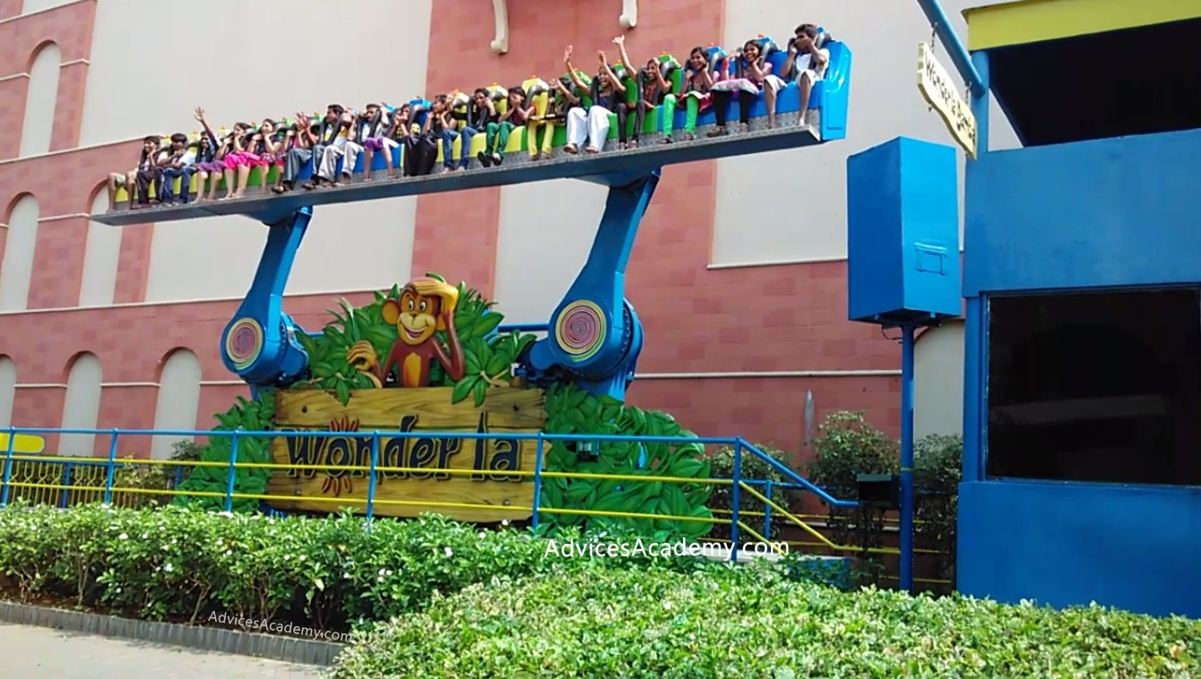 Wonderla Hyderabad Amusement Ride