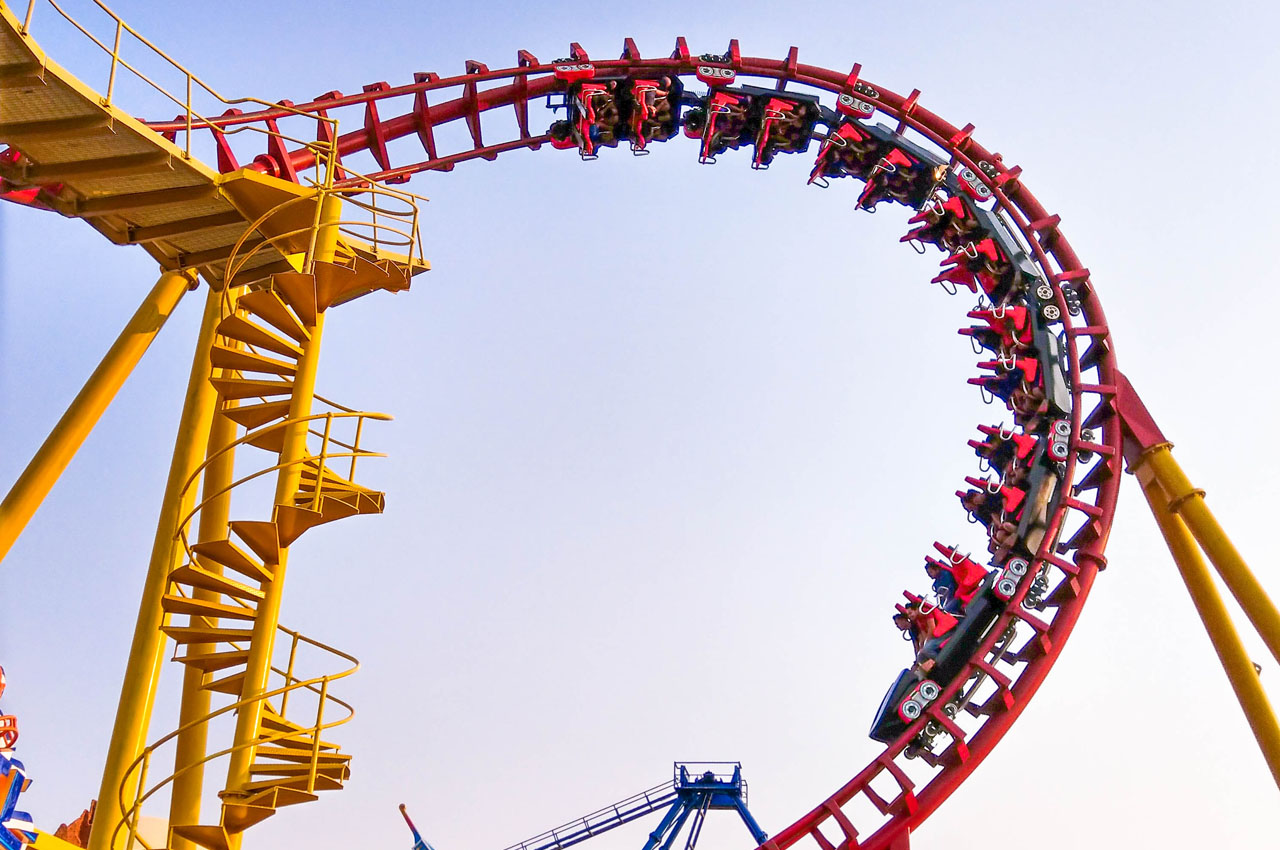 Wonderla Hyderabad Roller Coaster
