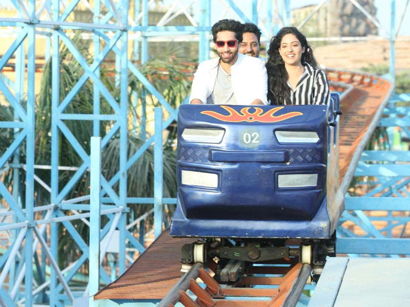 Blue World Kanpur Roller Coaster