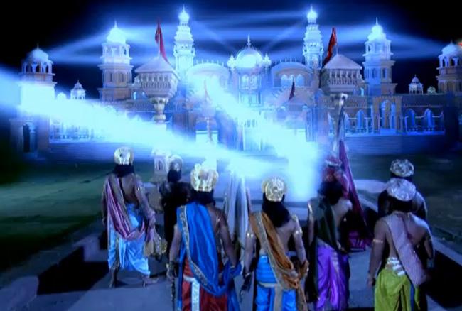 Pandavas enter Varnavrat