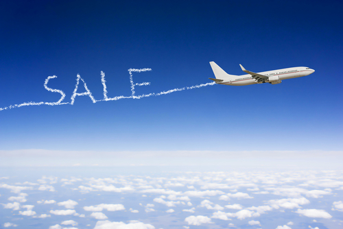 Look out for sale fares and airline errors