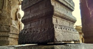 The Hanging Pillar of Lepakshi Temple