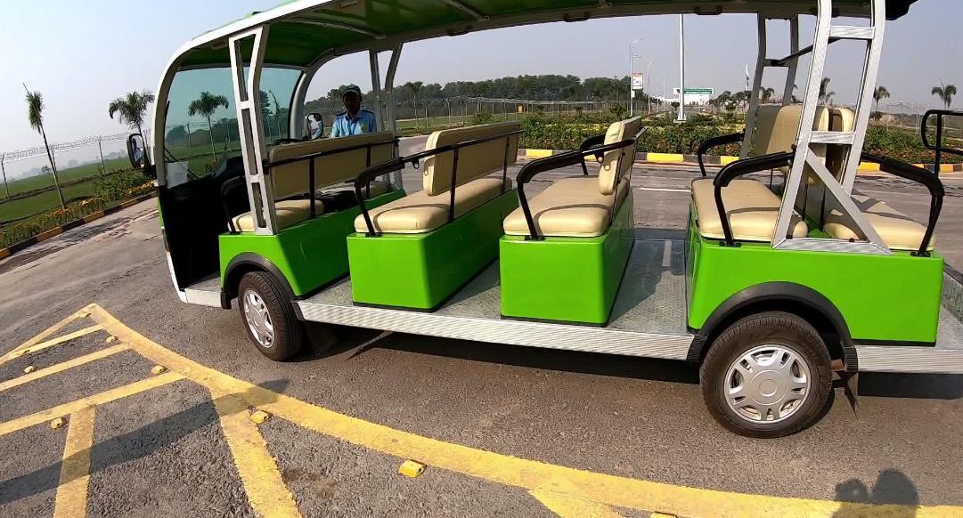 Electric Golf Cart at Pakistan-India Border, Kartarpur Corridor
