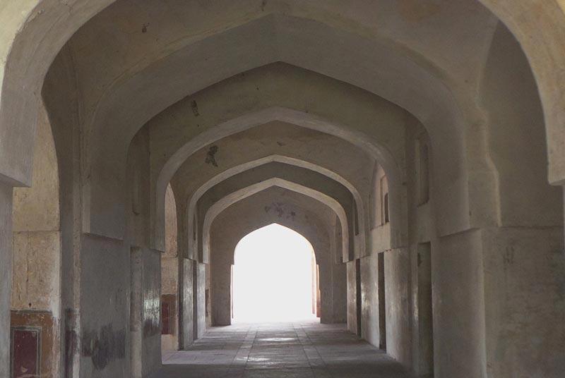 Interior of Tomb of Mariam uz Zamani