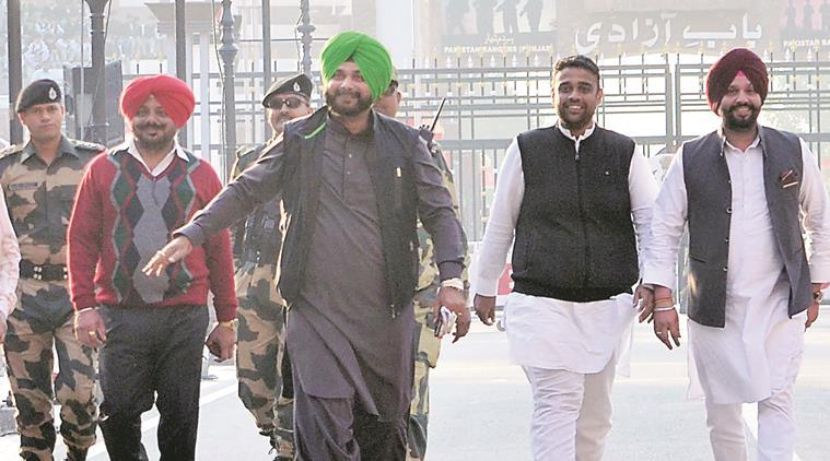 Navjot Singh Sidhu at Kartarpur Corridor
