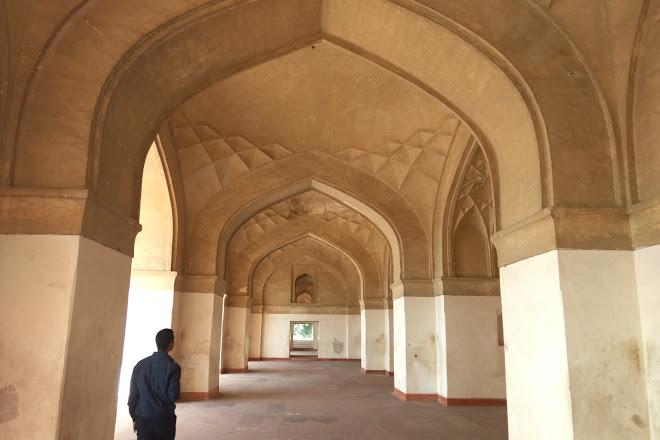 Passage in Mariam's Tomb
