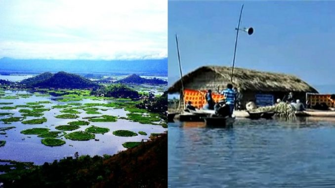 India's First Floating Elementary School at Loktak Lake, Manipur