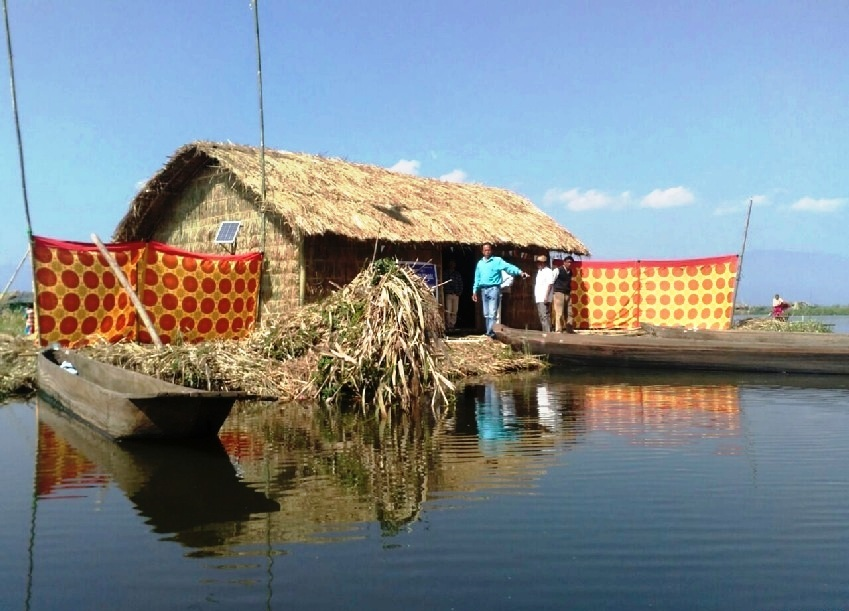 India's First Floating Elementary School