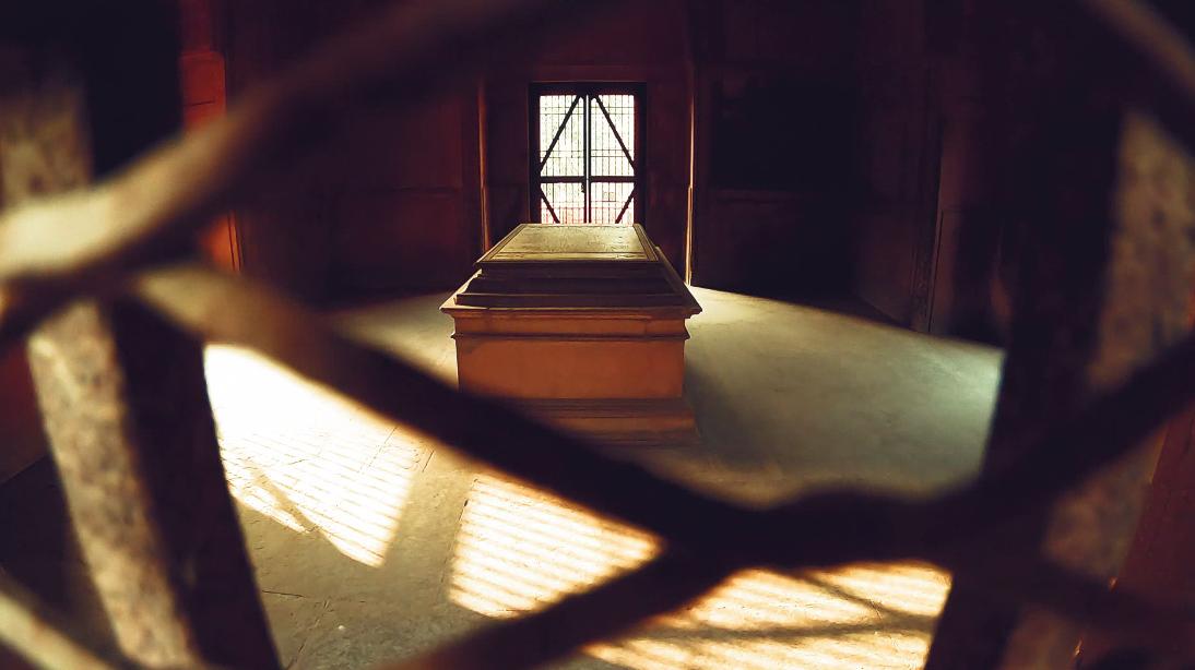 John Hessing's Burial(Grave)