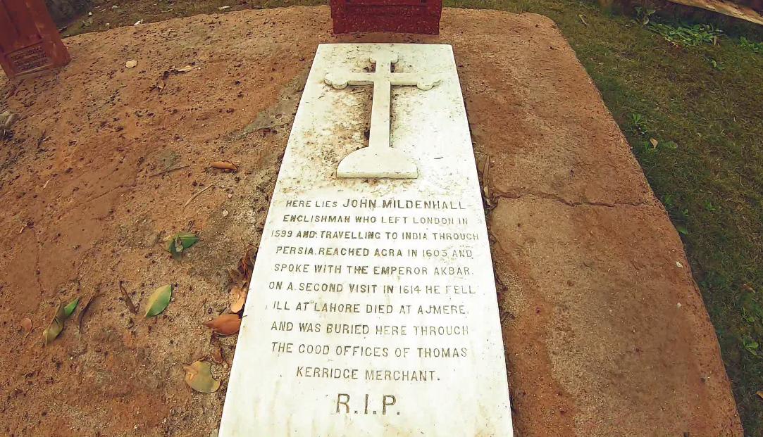 John Mildenhall's Burial