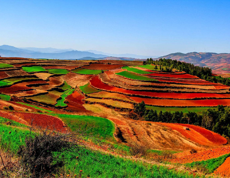 Dongchuan Red Land, China